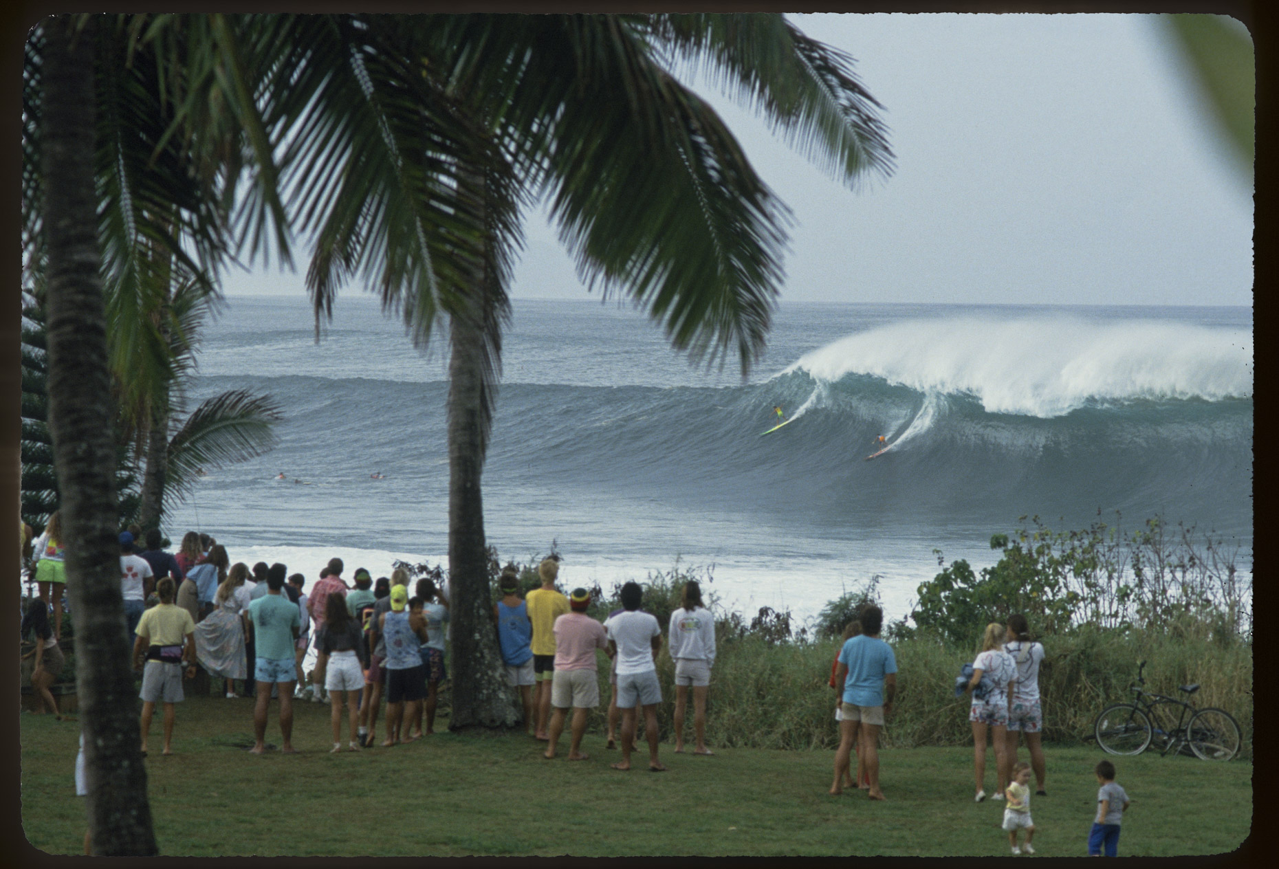 Mark Foo and Tony Moniz - Waimea Bay